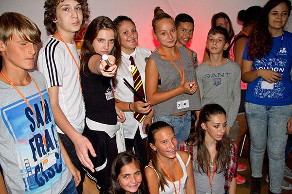 English language summer school students
